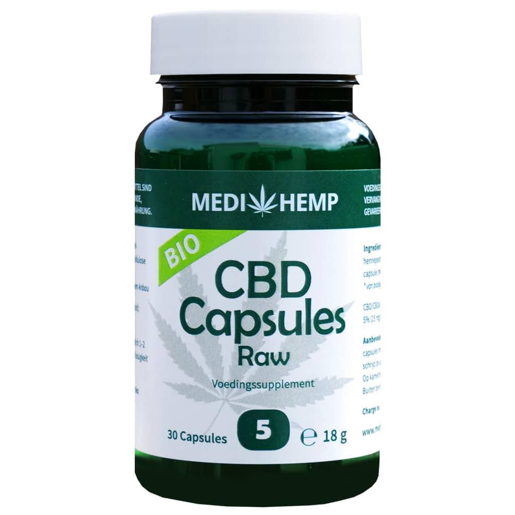 CBD capsules 5% - 30 caps