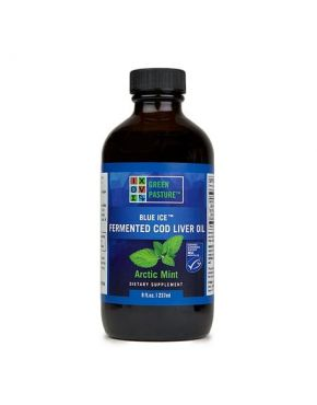 Blue Ice Fermented Cod Liver Oil – Arctic Mint