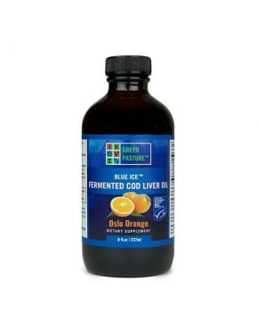Blue Ice Fermented Cod Liver Oil – Oslo Orange