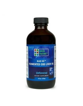 Blue Ice Fermented Cod Liver Oil - Unflavored