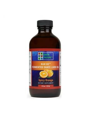 Blue Ice Fermented Skate Liver Oil - Spicy Orange
