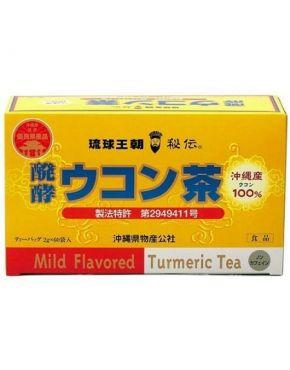 Gefermenteerde Kurkuma thee