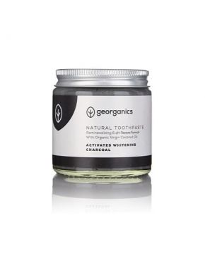 Natural Organic Remineralizing Tandpasta - Charcoal (verpakkingsfout)